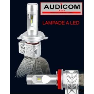 Kit 2 lampade a led H1